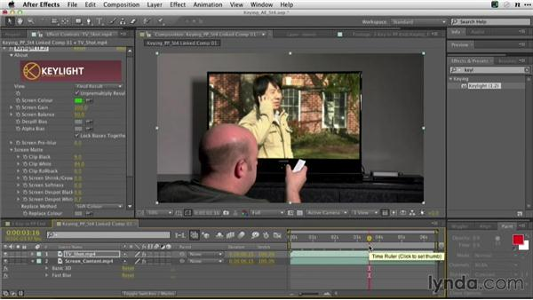 Using Dynamic Link: Adobe Green-Screen Workflow