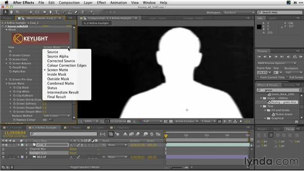 Refining KEYLIGHT: Adobe Green-Screen Workflow