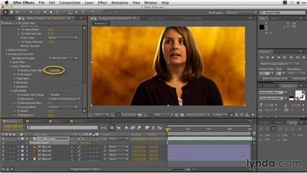 Primatte quick start: Adobe Green-Screen Workflow