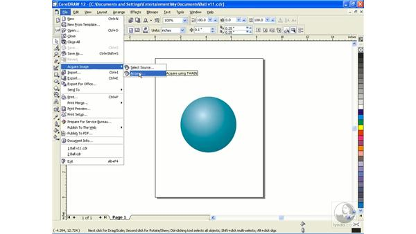 acquire and info: CorelDRAW 12 Beyond the Basics