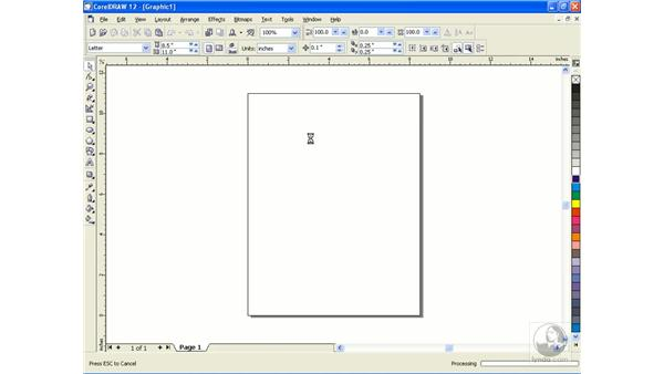 working with PDF: CorelDRAW 12 Beyond the Basics