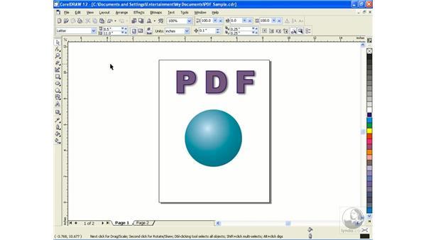 PDF-X: CorelDRAW 12 Beyond the Basics