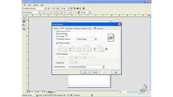 print tiling: CorelDRAW 12 Beyond the Basics