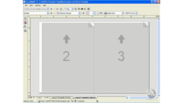 imposition layout: CorelDRAW 12 Beyond the Basics