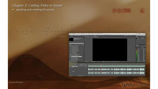 Course preview: Editing and Animating to Sound with Adobe After Effects