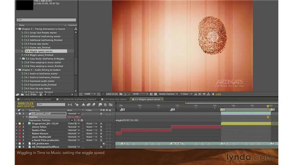 Wiggling in time to music: Editing and Animating to Sound with Adobe After Effects
