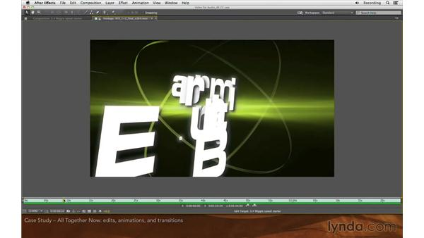Case study: All together now: Editing and Animating to Sound with Adobe After Effects