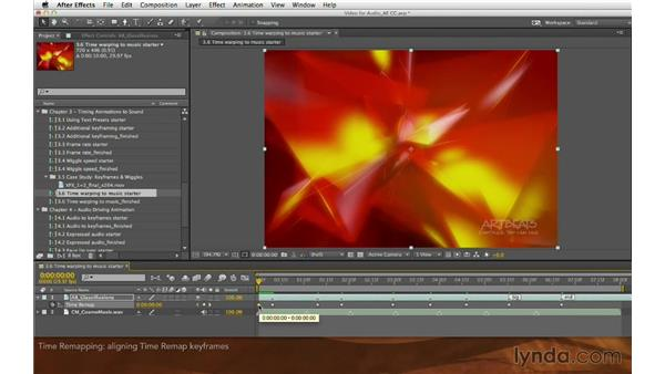 Time remapping: Editing and Animating to Sound with Adobe After Effects