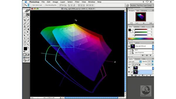 color settings: Enhancing Digital Photography with Photoshop CS