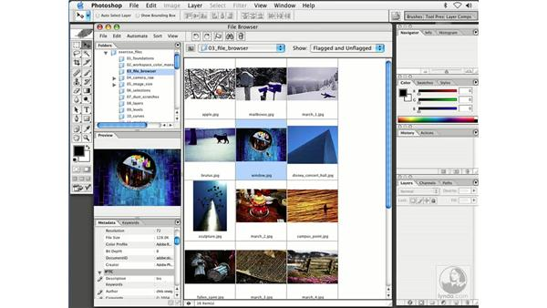 exporting the cache: Enhancing Digital Photography with Photoshop CS
