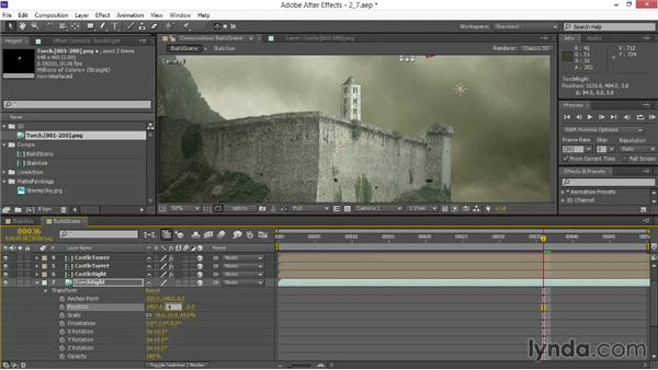Adding CG set dressing: VFX Techniques: Creating Explosions with 3D Layers