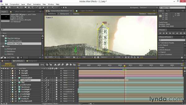 Working with 3D simulations: VFX Techniques: Creating Explosions with 3D Layers