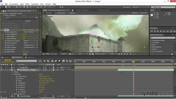 Adding a CG blast: VFX Techniques: Creating Explosions with 3D Layers