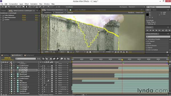 Layering CG debris: VFX Techniques: Creating Explosions with 3D Layers