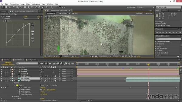 Replicating wall destruction: VFX Techniques: Creating Explosions with 3D Layers