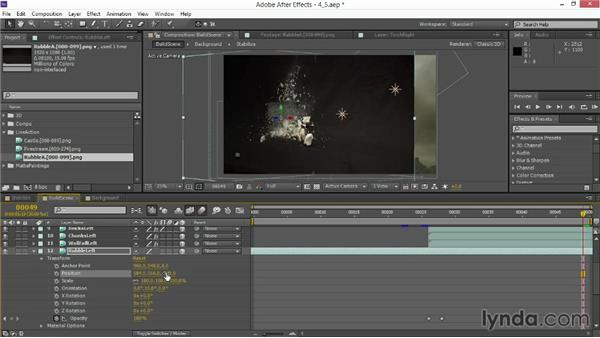 Processing video debris: VFX Techniques: Creating Explosions with 3D Layers