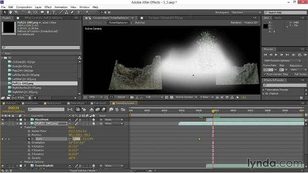 Layering additional explosions: VFX Techniques: Creating Explosions with 3D Layers