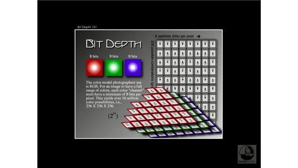 bit depth 3: Enhancing Digital Photography with Photoshop CS