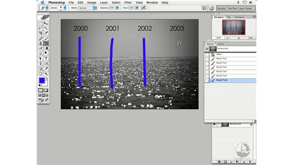 layers and history: Enhancing Digital Photography with Photoshop CS