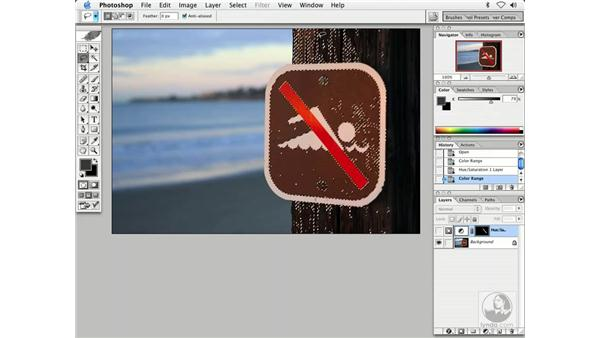 more on selections: Enhancing Digital Photography with Photoshop CS