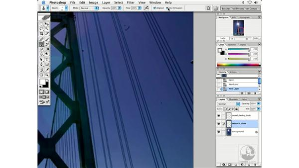 dusting 1 - S.F. Bay Bridge: Enhancing Digital Photography with Photoshop CS