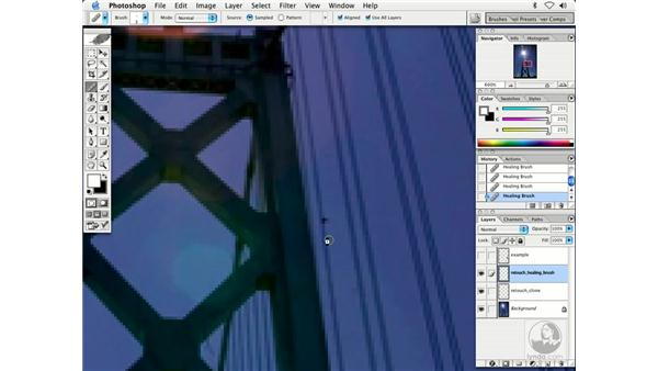 dusting 2 - S.F. Bay Bridge: Enhancing Digital Photography with Photoshop CS