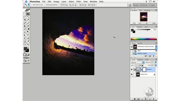 curves color and tone 1: Enhancing Digital Photography with Photoshop CS