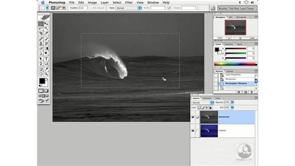 using masking - wave: Enhancing Digital Photography with Photoshop CS