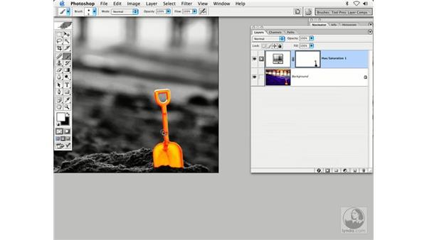 using masking - shovel: Enhancing Digital Photography with Photoshop CS