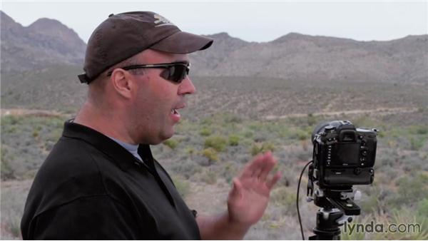 Working the scene: Creating Time-Lapse Video