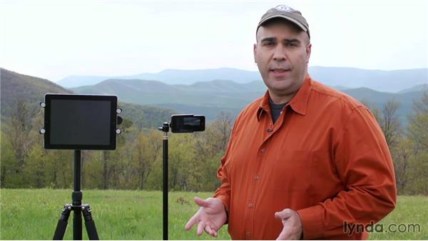 Setting up the shot with Lapse It: Creating Time-Lapse Video