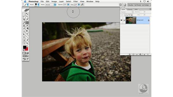 quick mask - eyes: Enhancing Digital Photography with Photoshop CS