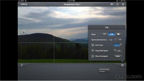 Using iStopMotion for iPad: Creating Time-Lapse Video