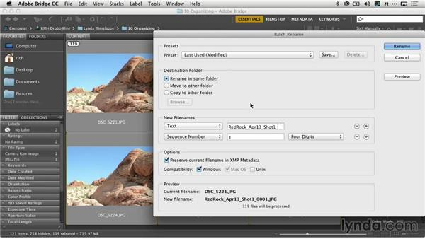 Renaming and renumbering image sequences: Creating Time-Lapse Video