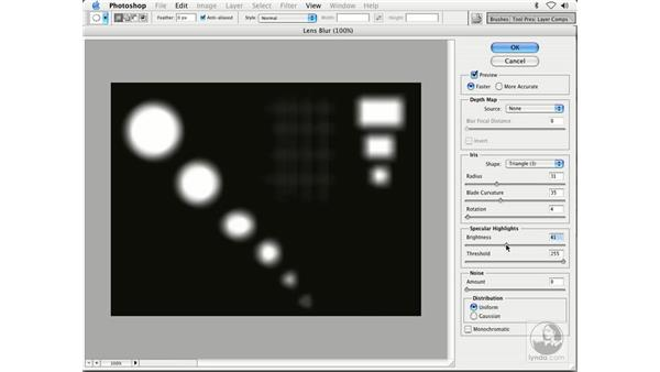 revealing the lens blur: Enhancing Digital Photography with Photoshop CS