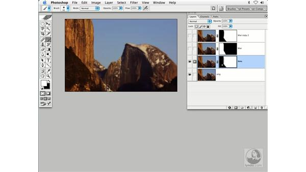 lens blur and masking: Enhancing Digital Photography with Photoshop CS