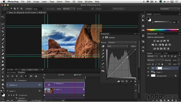 Adjusting the time-lapse sequence: Creating Time-Lapse Video