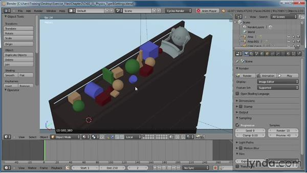 Planning out the shot: Creating Rigid Body Simulations in Blender