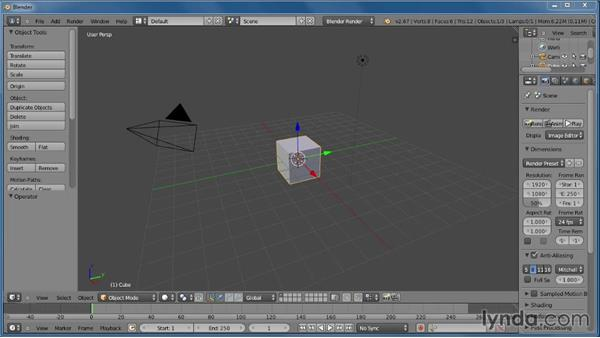 What's next?: Creating Rigid Body Simulations in Blender