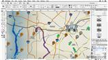 Image for Placing the map in InDesign