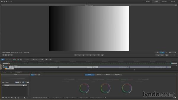 Manipulating the viewer: Up and Running with SpeedGrade CC