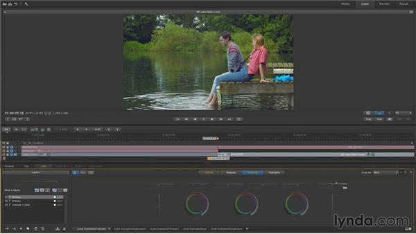 Manipulating the Timeline: Up and Running with SpeedGrade CC