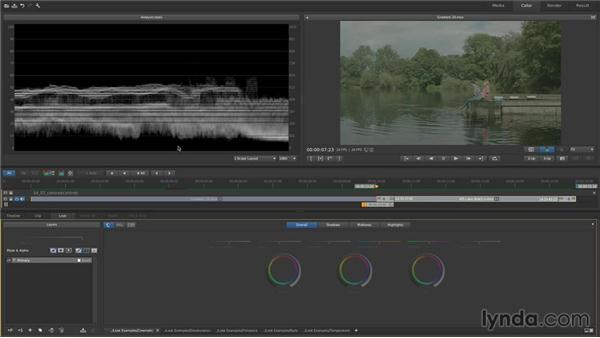 Understanding the 3-Way controls: Contrast: Up and Running with SpeedGrade CC