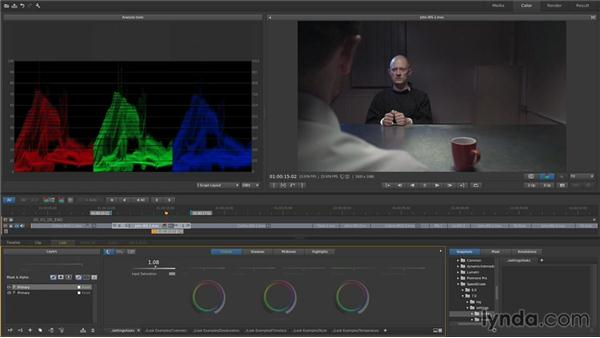 Grading in passes: Up and Running with SpeedGrade CC