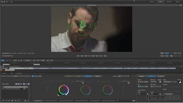 Tracking a face: Up and Running with SpeedGrade CC