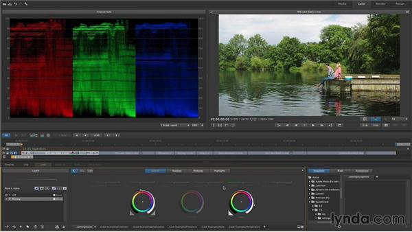 Understanding LOG (flat) footage and LUTs: Up and Running with SpeedGrade CC