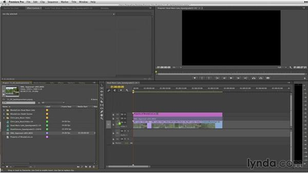 Importing rendered media back in Premiere Pro: Up and Running with SpeedGrade CC