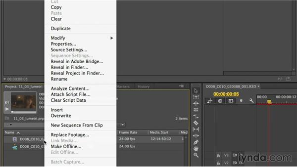 Sharing looks between SpeedGrade and Premiere Pro: Up and Running with SpeedGrade CC