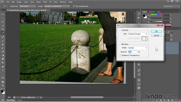 Filling in missing details: Photoshop CC 2013 One-on-One: Fundamentals
