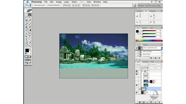 thoughts on color: Enhancing Digital Photography with Photoshop CS